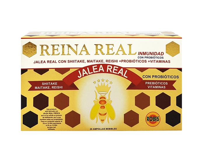 REINA REAL INMUNIDAD 20 AMP 10ML ROBIS en Biovegalia