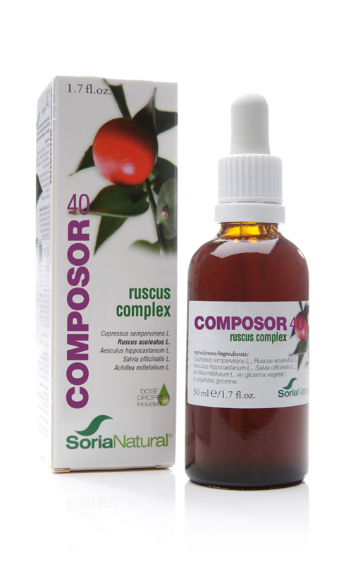 COMPOSOR 40 RUSCUS COMPLEX 50 ML