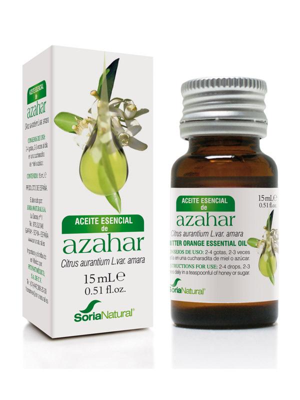 ACEITE ESENCIAL DE AZAHAR 15 ML SORIA NATURAL en Biovegalia