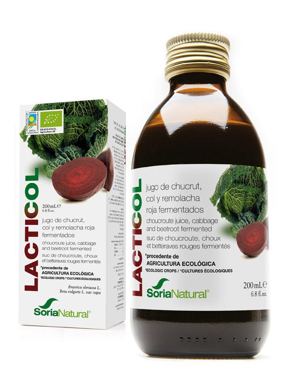 LACTICOL 200ml SORIA NATURAL en Biovegalia