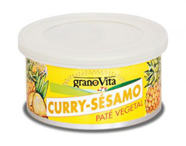 PATE CURRY Y SESAMO LATA 125G