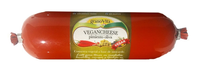 VEGANCHEESE PIMIENTO-OLIVA 200 gr