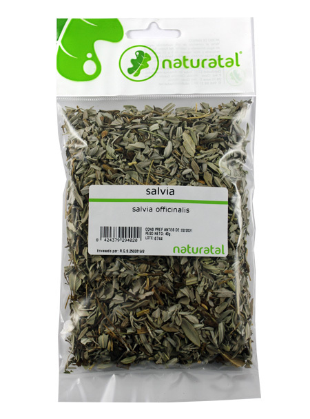 SALVIA (Salvia officinalis) 40GR