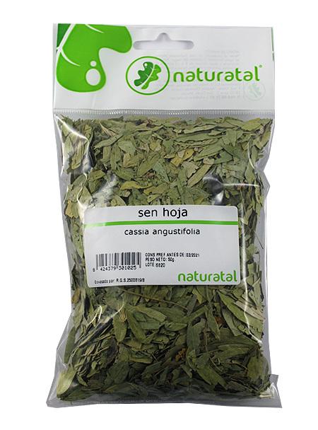 SEN HOJAS (Cassia angustifolia) 50GR