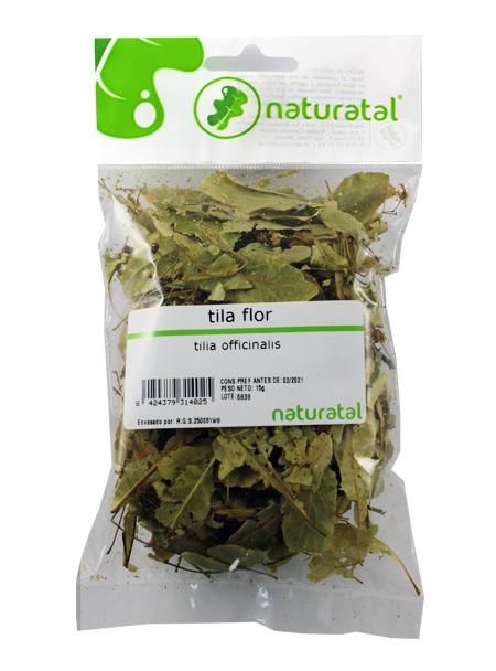 TILA FLOR (Tilia platyphyllos) 15GR NATURATAL en Biovegalia