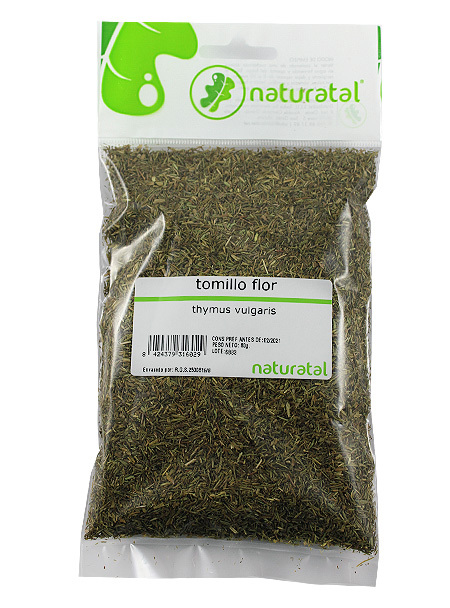 TOMILLO FLOR (Thymus vulgaris) 80GR NATURATAL en Biovegalia