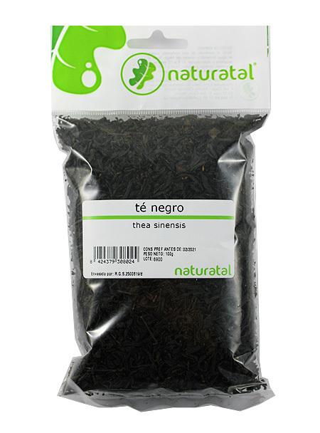 TE NEGRO  80GR NATURATAL en Biovegalia