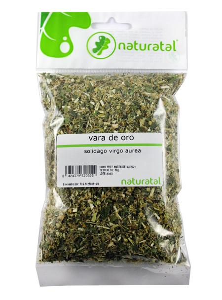 VARA DE ORO (Solidago virga-aurea) 50GR NATURATAL en Biovegalia