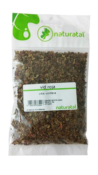 VID ROJA (Vitis vinifera) 40GR NATURATAL en Biovegalia