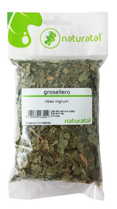 GROSELLERO (Ribes) HOJA TRIT 50GR NATURATAL en Biovegalia