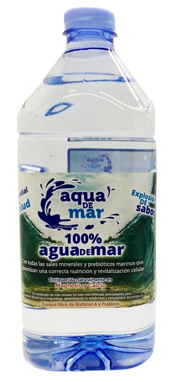 AGUA DE MAR PET 2 L (6) AQUA DE MAR en Biovegalia