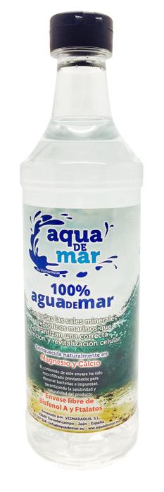 AGUA DE MAR 250 ML (24) AQUA DE MAR en Biovegalia