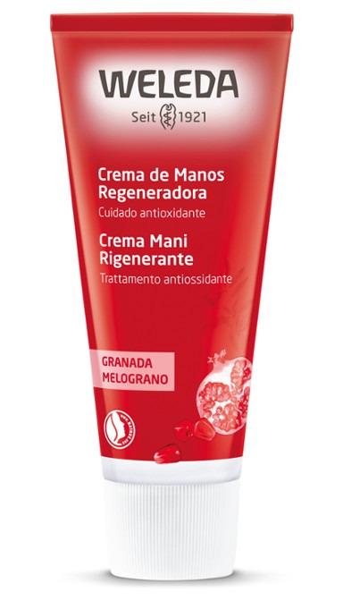 CREMA DE MANOS DE GRANADA 50 ML WELEDA en Biovegalia