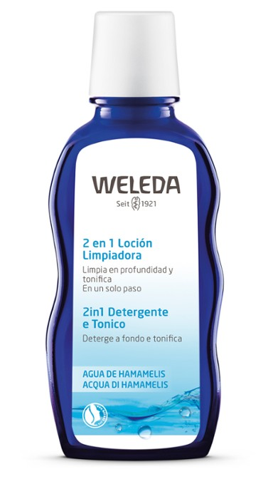 LOCION LIMPIADORA 2 EN 1 100 ML WELEDA en Biovegalia