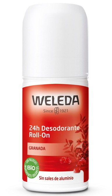 DESODORANTE ROLL-ON GRANADA 50ML WELEDA en Biovegalia
