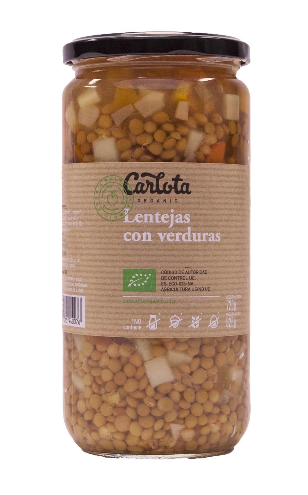 LENTEJAS CON VERDURAS 720gr
