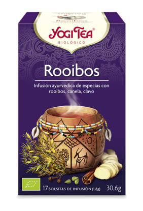 YOGI TEA ROOIBOS BIO 17 BOLSITAS en Biovegalia