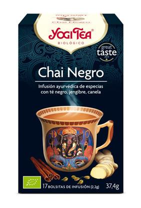 YOGI TEA CHAI NEGRO BIO 17 BOLSITAS YOGI TEA en Biovegalia