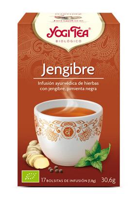 YOGI TEA JENGIBRE  BIO 17 BOLSITAS YOGI TEA en Biovegalia
