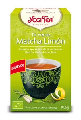 YOGI TEA TE VERDE MATCHA LIMON  BIO 17 BOLSITAS YOGI TEA en Biovegalia