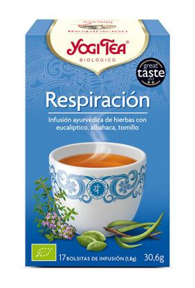 YOGI TEA RESPIRACION  BIO 17 BOLSITAS YOGI TEA en Biovegalia