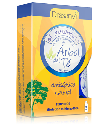 ACEITE DE ARBOL DEL TE 100% 18ML DRASANVI en Biovegalia
