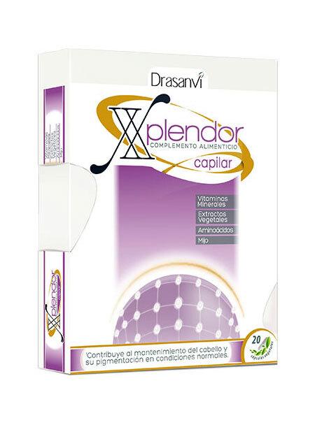 XPLENDOR CAPILAR 24 CAPS DRASANVI en Biovegalia