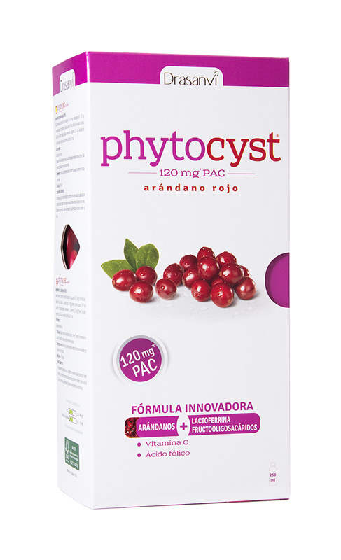 PHYTOCYST 120MG 250ML DRASANVI en Biovegalia