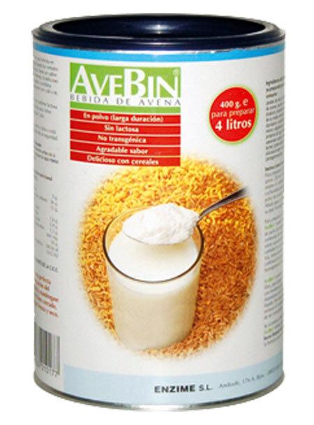 AVEBIN (BEBIDA DE AVENA EN POLVO) 400GR ENZIME en Biovegalia