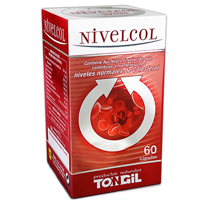 NIVELCOL TONGIL 60 CAPSULAS en Biovegalia