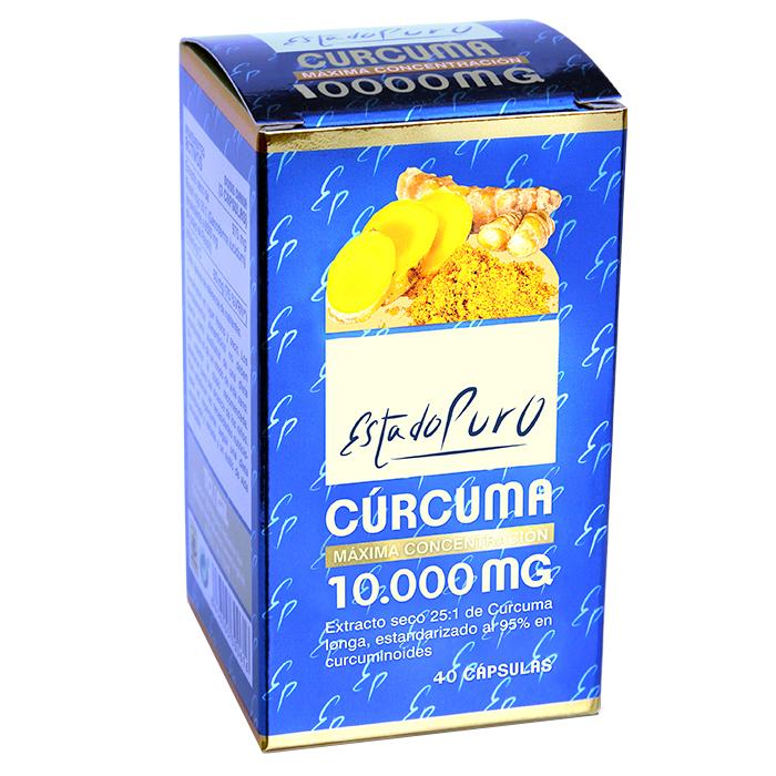 CÚRCUMA ESTADO PURO TONGIL 10.000 MG  40 CAPSULAS en Biovegalia