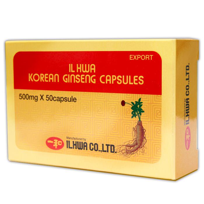 GINSENG TONGIL BLISTER  100 CAPSULAS IL HWA en Biovegalia