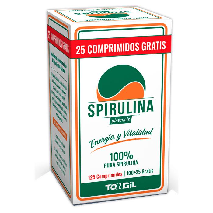 SPIRULINA TONGIL 125 COMPRIMIDOS en Biovegalia