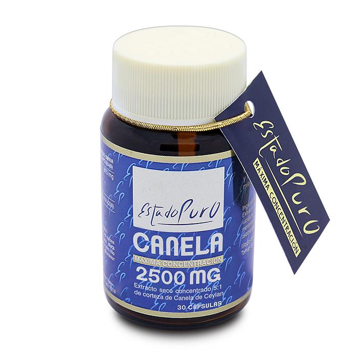 CANELA 2.500 MG  30 CAPSULAS ESTADO PURO TONGIL en Biovegalia