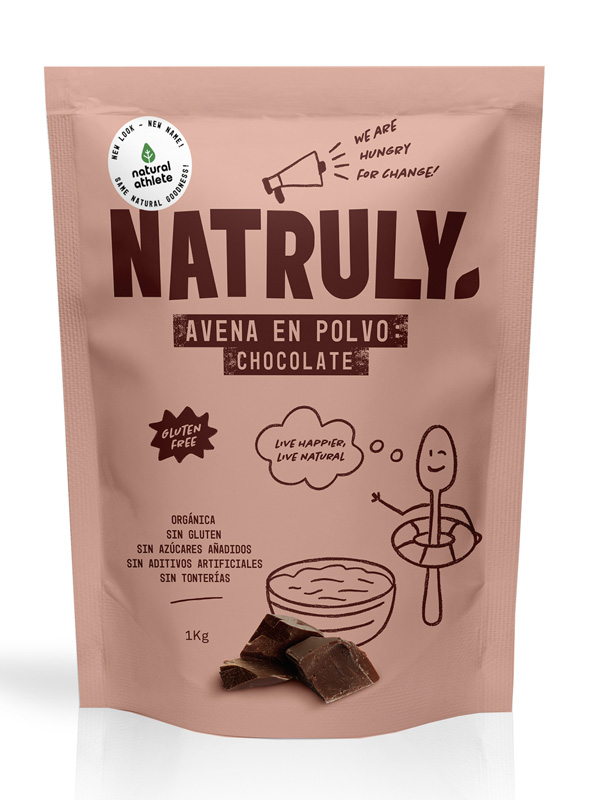 NATURAL AVENA EN POLVO CHOCOLATE  BIO 1 KG en Biovegalia
