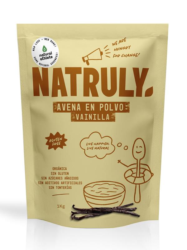 NATURAL AVENA POLVO VAINILLA 1 KG en Biovegalia