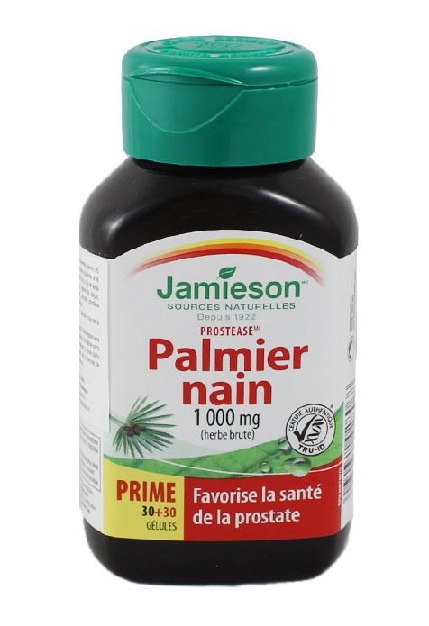 PROSTEASE SAW PALMETTO 60 PERL JAMÍESON en Biovegalia