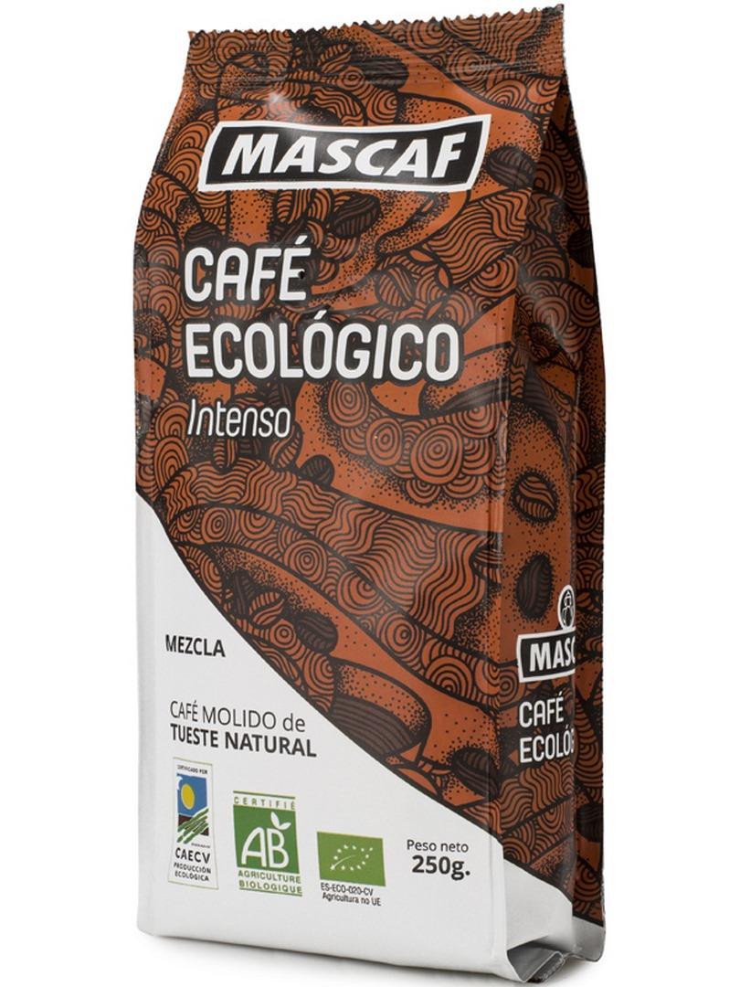 BIO CAFÉ INTENSO MOLIDO 250 g en Biovegalia