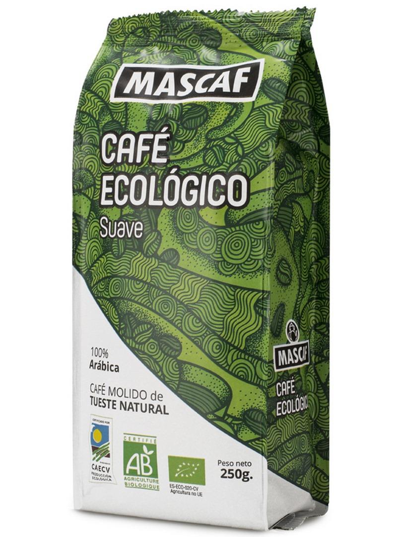 BIO CAFÉ SUAVE MOLIDO 250 g MASCAF en Biovegalia