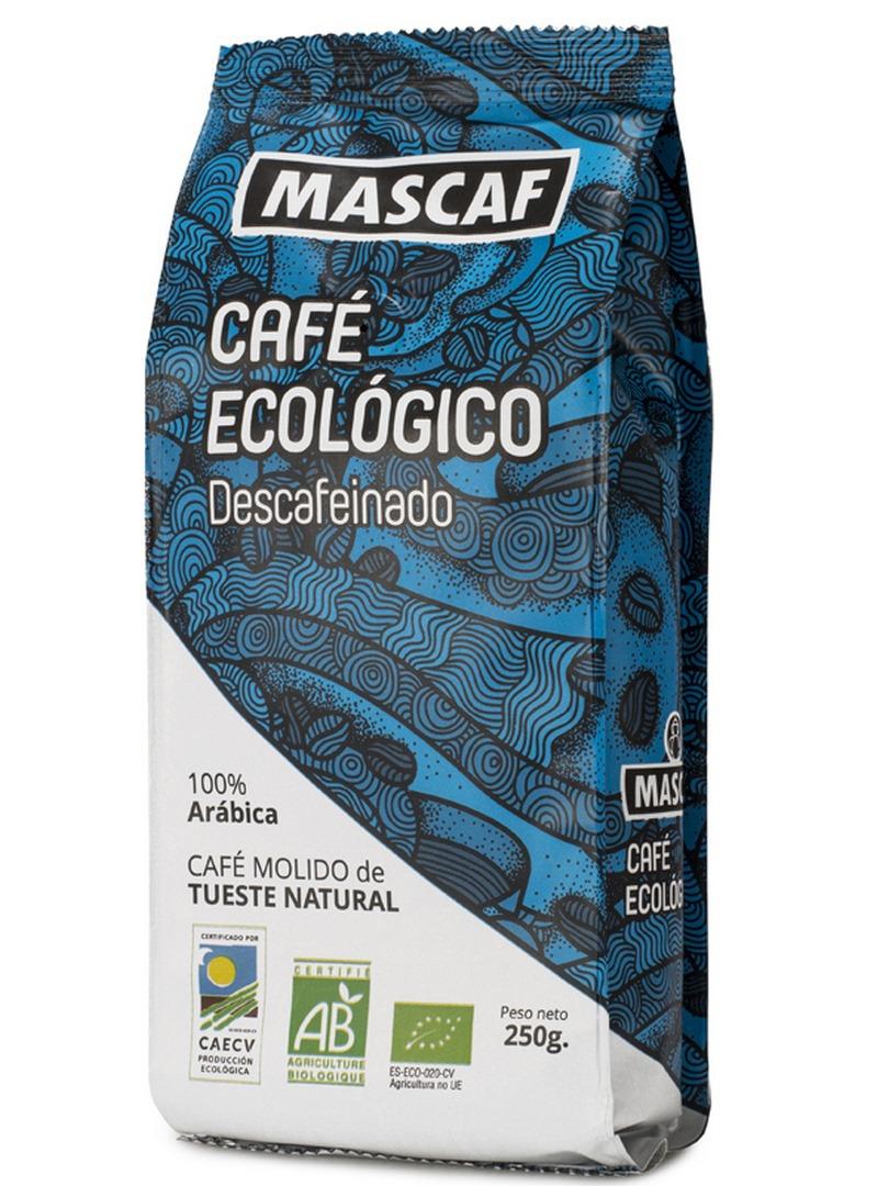 BIO CAFÉ DESCAFEINADO MOLIDO 250 g en Biovegalia