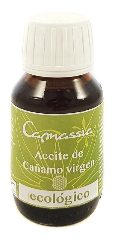 ACEITE DE CAÑAMO VIRGEN BIO 50 ML CAMASSIA en Biovegalia