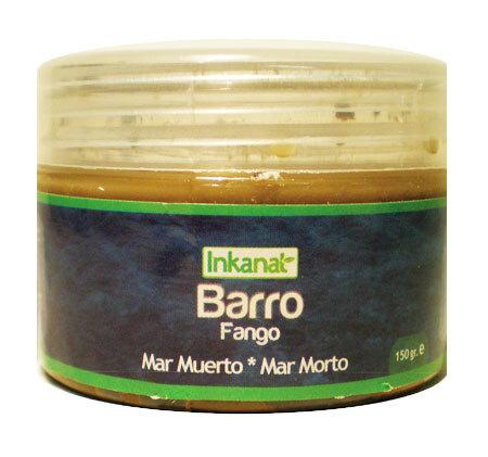 BARRO DEL MAR MUERTO 1 KG. INKANAT en Biovegalia