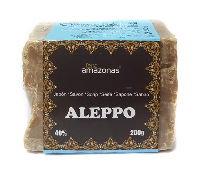 JABON DE ALEPO (40% AC LAUREL) 200GR INKANAT en Biovegalia