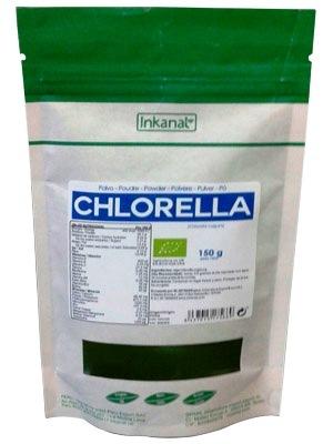 CHLORELLA BIO POLVO BOLSA  150GR INKANAT en Biovegalia