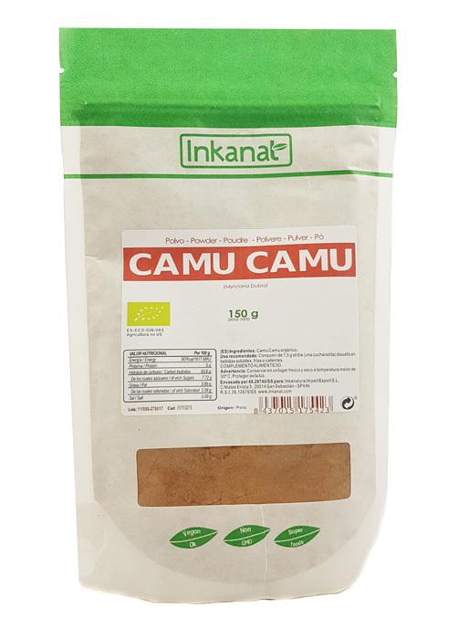 CAMU CAMU POLVO BIO 150 GR INKANAT en Biovegalia