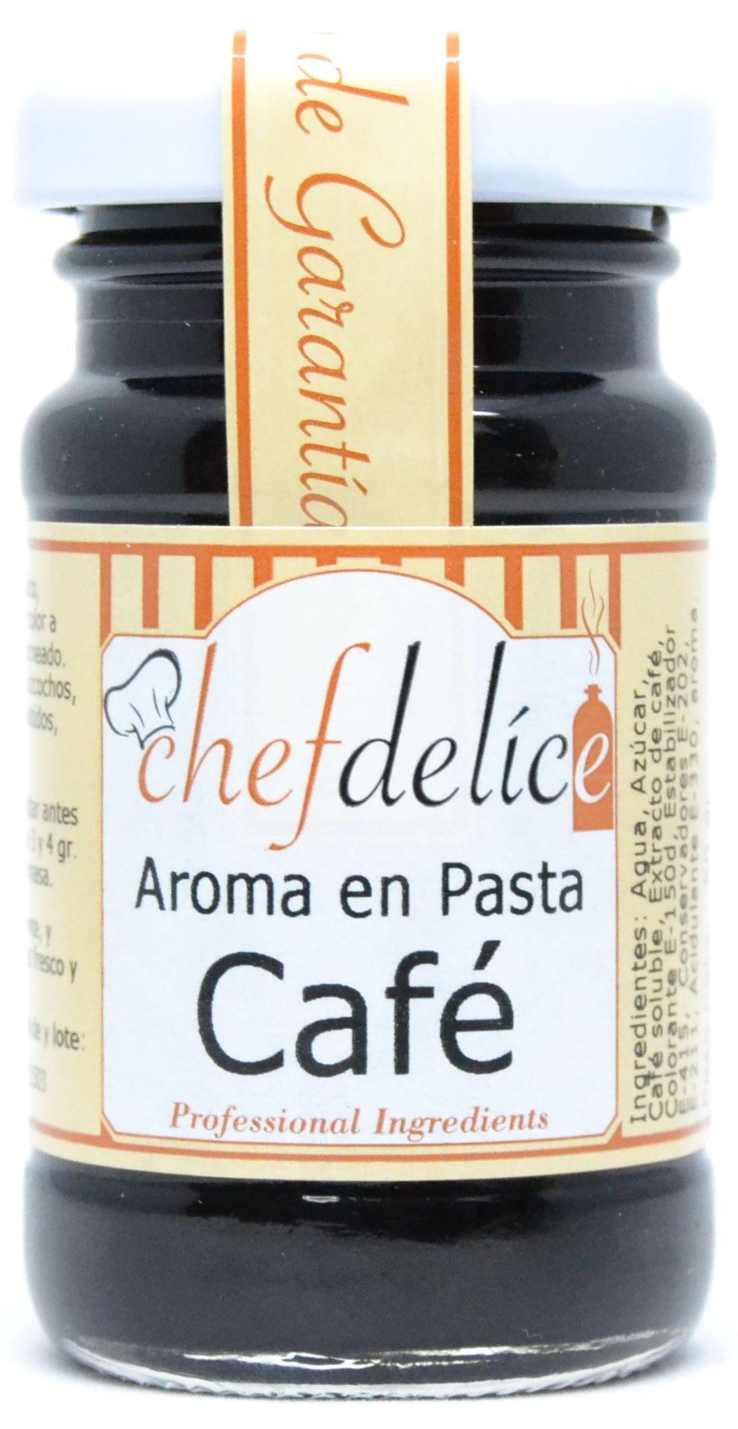 CAFE AROMA EN PASTA EMUL. 50 G CHEFDELICE en Biovegalia