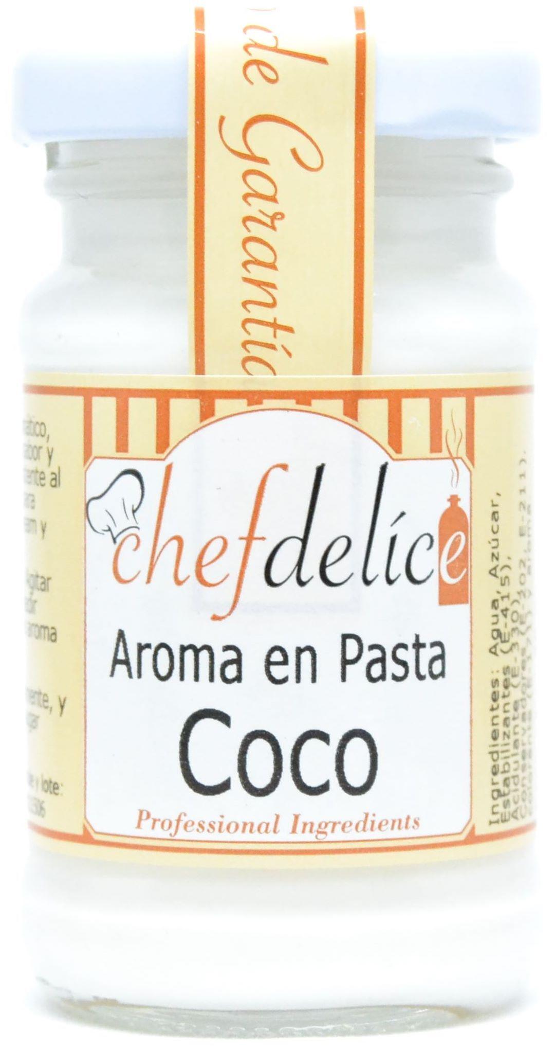 COCO AROMA EN PASTA EMUL. 50 G CHEFDELICE en Biovegalia