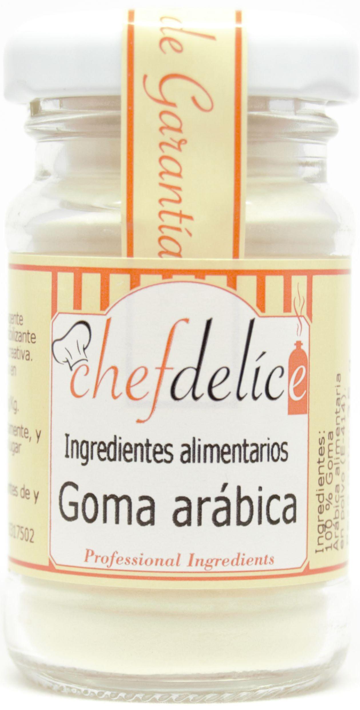GOMA ARABICA 35 G CHEFDELICE en Biovegalia