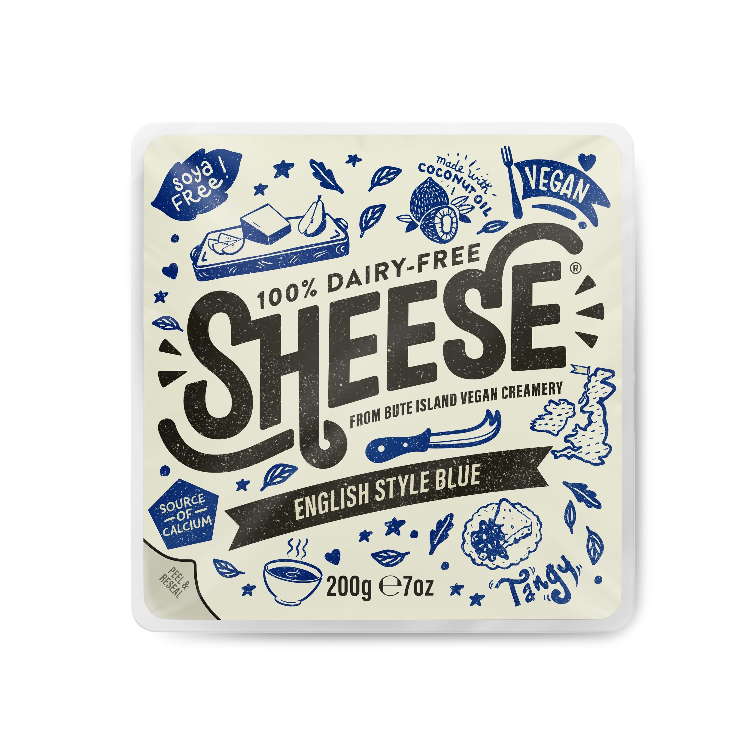 QUESO AZUL INGLES (fundir) 200 GR SHEESE en Biovegalia