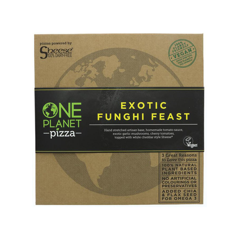 PIZZA FUNGHI 455 GR ONE PLANET PIZZA en Biovegalia